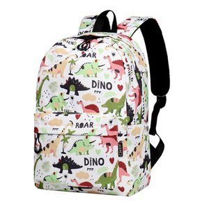 Print Fashion Dinosaur Style Backpack School Bag Waterproof Laptop And Travel Bags Shoulder Bag
