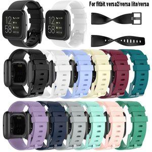 For Fitbit Versa 2  versa2   versa lite Wristband Wrist Strap Smart Watch Band Strap Soft Watchband Replacement Smartwatch Band