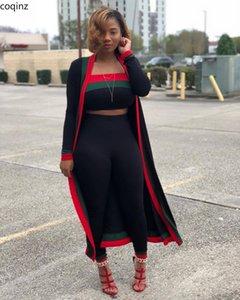 Summer 2020 Plus Size 3 Piece Set Club Outfits For Women Top And Pants Matching Sets Tracksuit Women Clothes Ensemble Femme S628 T200702