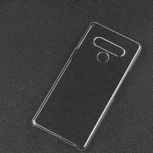 Ultra Clear transparent PC dur arrière pour LG STYLO 6, 4 5 Stylo, LG G7 THINQ G8 G8s K61 Velvet V60 G8X V40 V30 THINQ K50 Q60