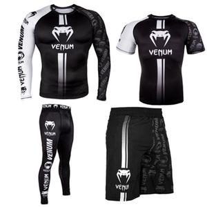 T mens camisa sportwear terno TRUNKS sublimada imprimir bjj boxe rashguard jiu jitsu gi Rash Guard navio livre muay respirável