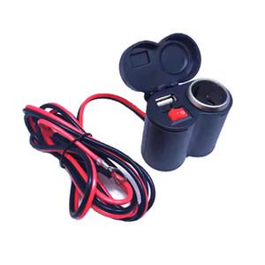 Commercio all'ingrosso moto accendisigari 12V24V presa accendisigari USB Charger cellulare accessori retrofit impermeabile