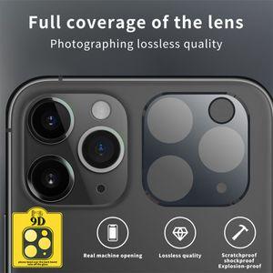 360 ° tentesi temperli cam iphone için iphone11 / 11 pro / pro max Kamera ekranı Lens HD gece Photograthy Koruma Glass için