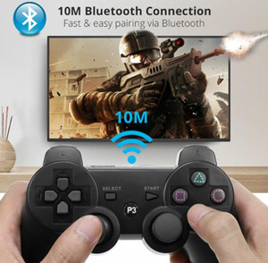 wholesale PS3 controllers Wireless Controller Bluetooth Game Controllers Double Shock For playstation 3 PS3 Joysticks gamepad