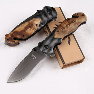 atacadista Browning X50 faca dobrável 3300 3350 A161 A07 A162 impulso karambit Camping TOOL facas de caça faca de bolso transporte EDC ferramenta grátis