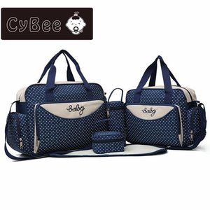 New Ashion Multi Function Large Capacity Mummy Bag Five Sets Out From Bag Hand The Bill of Lading Shoulder Mother Package