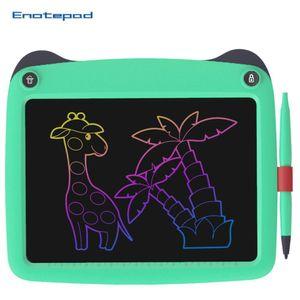 LCD 쓰기 태블릿 9 개 인치 디지털 드로잉 전자 필기 패드 메시지 그래픽 보드 어린이 지우개 칠판 어린이 선물 용품 및 완구