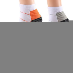 1 Pair Breathable Foot Compression Socks Plantar Fasciitis Heel Spurs Arch Pain Comfortable Socks Running Tennis Sports Socks