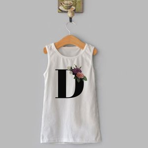 New Cartoon Party Birthday Dresses Letters Printing Summer Girls Dress Children Kawaii Novelty Kid Baby Clothes Vogue Girl Dress