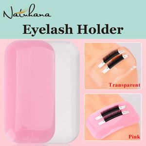 NATUHANA Silicone False Eyelash Extension Holder Lsolated Patches Maquiagem Forehead Lash Cilios Pads Makeup Organizer