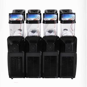 nuevo estilo de un cilindro, nieve Comercial de fusión de la máquina 110V / 220V Slush hielo Slusher Bebida fría dispensador Smoothie de la máquina 15L * 41pc