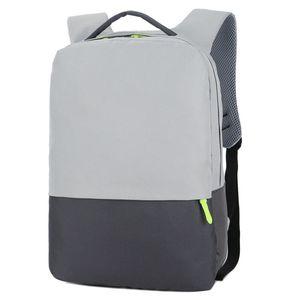 Fashion Business Laptop Backpack Notebook Simple Man Sac Sacs portable en nylon informatique College School Student Rucksack