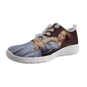2019 Yeni Trend Özelleştirilebilir Açık Wading Ayakkabı delikler alt Erkekler Lace Up Sneaker Erkekler Işık Ayakkabı Sanatçı Boyama Baskı Ingres