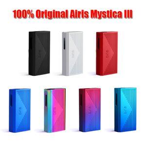 100% Original Airis MYSTICA III 3 Variable Voltage 350mAh Preheat VV Battery Vape Box Mod For 510 Thread Thick Oil Cartridges Authentic