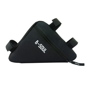 B-SOUL Bicycle Front Frame Triangle Bag Cycling Bike Tube Pouch Holder Saddle Panniers Waterproof Accessories