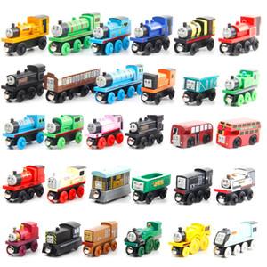 Thomas-Zug-Holz-Modell-Spielzeug, Minigröße, 59 Styles, Kompatibel mit Thomas Train Track, für Party Weihnachten Kid'Geburtstags-Geschenk, Haupt Ornament