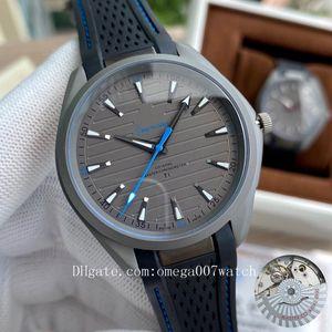 di alta qualità James Bond 007 Aqua Terra mare orologi maestri pianeta oceano Ultra uomini sportivi leggeri da polso Omega Seamaster Mens Watch D2110