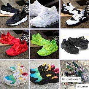 Huarache Huaraches Gökkuşağı Erkekler Kadınlar Huraches Çok renkli Üçlü Beyaz Siyah Kırmızı Yeşil Sneakers Boyutu 36-45 Breathe Koşu Ayakkabıları Ultra
