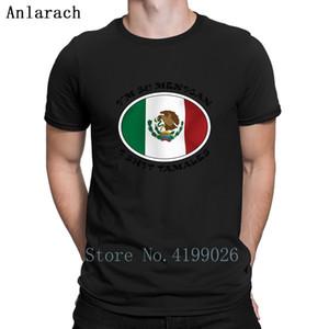 Mexicano divertido camisetas anti-arrugas Primavera Ronda de Otoño collar de impresión camiseta traje único nuevo estilo Anlarach Hiphop Top