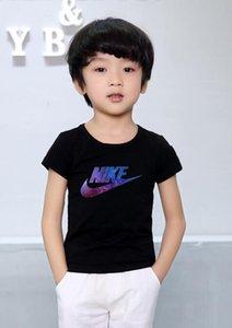 2020 Fashion Kids 1-9 years t Shirt Children Lapel Short sleeves T shirt Boys girl Tops Clothing Brands Solid Tees Girls Cotton shirts ste11