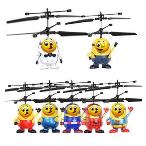Novo brinquedo indução voando ruibarbo pessoas Flying Fairy suspensa helicóptero avião indução luminosa bola de cristal como brinquedos para crianças