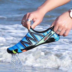 GOODRSSON унисекс кроссовки женская обувь легкие дышащие быстросохнущие летние открытые женские сандалии полосатая дренажная обувь