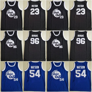 Men Moive Tournament Shoot Out Motaw Wood Jersey 54 Kyle Watson Duane 96 Birdie Tupac Jerseys Basketball Above The Rim Costume Double