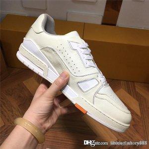 Горячий стиль продает высокое качество мужской случайные спортивная обувь COWHIDE шить специальную ткань кожи кроссовок оригинальной упаковки