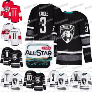 3 Keith Yandle Florida Panthers 2019 All Star Jonathan Huberdeau Evgenii Dadonov Mackenzie Weegar Roberto Luongo Aleksander Barkov Jersey