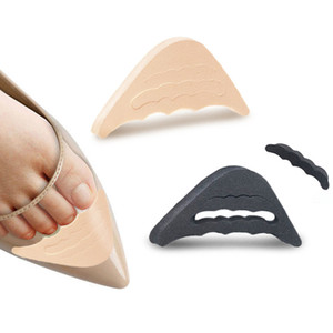 1 par de Mulheres High Heel Metade Forefoot Inserir Almofada Toe plug alívio da dor Protector Big Shoes Toe Frente Filler Adjustment