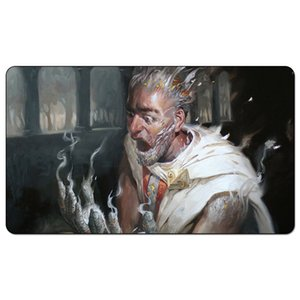 Magic Board Game Playmat: Thoughtseize (Theros) Tovaglietta 60 * 35cm Tappetino per mouse Mousepad Gioca Matwitch fantasy occulto mago femmina scuro