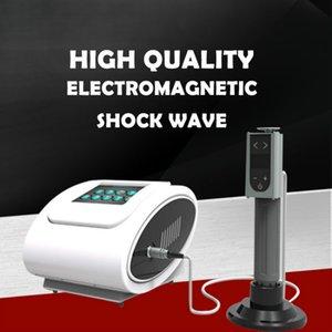 Novo portátil Shock Wave aliviar Equipamento dor comum com terapia por ondas Eletrônica / extracorpórea Radial Choque para salão de beleza ED Treatment