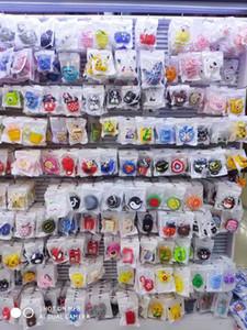 Смешанное Симпатичный мультфильм мягкий силиконовый чехол для Apple Airpods чехол Bluetooth наушники Airpods мультфильм силиконовый чехол