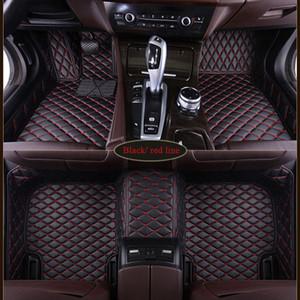 Custom Fit Coche Floor Mats para Audi A3 A5 Sportback A1 A3 A4 A6 A7 A8 A6L S3 5 6 7 8 AVANT Q3 Q5 Q7 TT Piezas de automóviles Mat
