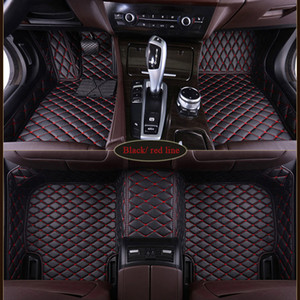 Özel fit Audi a3 a5 sportback için araba paspaslar A1 A3 A4 A6 A7 A8 A6L S3 5 6 7 8 AVANT Q3 Q5 Q7 TT Otomobil parçaları halı paspas