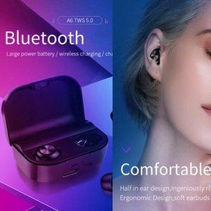 블루투스 5.0 이어폰 무선 헤드폰 미니 보이지 않는 싱글에서 귀 이어폰 스포츠 블루투스 이어폰