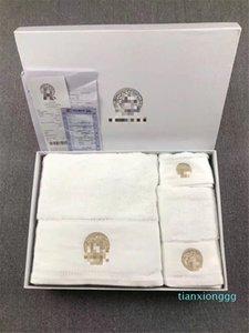Богиня Дизайнер Полотенца Вышивка ванной полотенце Письмо тела Все Хлопок Жаккард Полотенце для лица Полотенца Мода