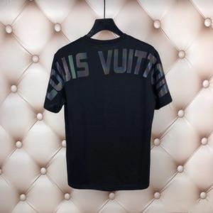 Designer 2020 Paris fã T-shirt ocasional do verão T-shirt do alfabeto algodão de moda das mulheres dos homens de manga curta Medusa T-shirt M-3XL