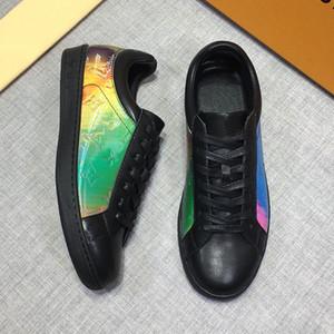 Migliore qualità di cuoio reale degli uomini sneaker designershoes regalo per le donne scarpa