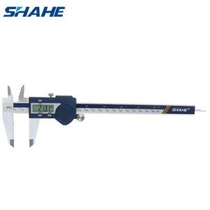 Shahe Digital Vernier Caliper 200 millimetri in acciaio inox Paquimetro Digital Micrometro Vernier Compassi Strumenti di misura T200602