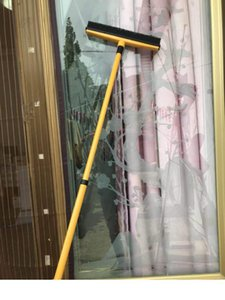 50pcs goma escoba multifuncional telescópica escoba limpiador de mascota de depilación piso del hogar del cepillo mopa alfombra barredora