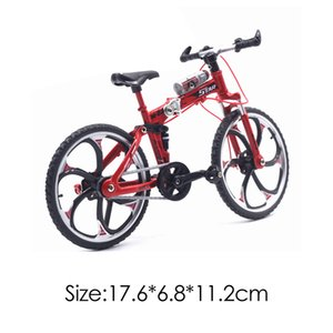 01:10 Simulazione Mini BMX biciclette Flick barretta della lega Mountain Road Bike Model Toy Mini BMX bici adulta Collection