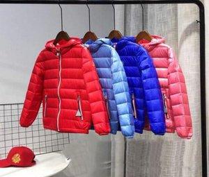 Perakende Çocuk Kış ceket Aşağı Bebek Aşağı Coat Boys Dış Giyim Kalınlaştırıcı Perakende 4-10T paltoları Yüksek Kaliteli marka çocuk kış