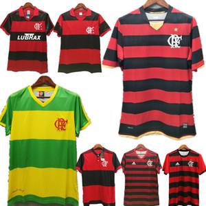 레트로 FLAMENGO 축구 유니폼 1982 1990 2004 2008 2017 2018 브라질 리그는 플랑드르 camisa 19 20 멀리 샌디에고 (10) WHITE 축구 셔츠 빨간색
