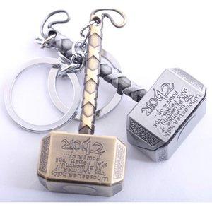 Tanrı Thor Hammer Metal Anahtarlık Anahtarlık Anahtarlık kolye Vintage Takı