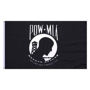 Prezzo di fabbrica all'ingrosso libero di trasporto 90 * 150cm 3x5fts non siete dimenticati Prigioniero di guerra POW MIA bandiera