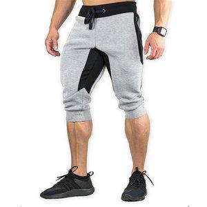 Erkek Şort Moda Kasetli Capris Kalem Pantolon Gündelik İpli Düşük Şort Yaz Aktif Stili Şort Relaxed