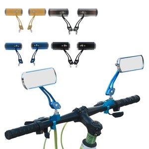 2020 NUOVO 1 coppia 360 giri strada della montagna del manubrio della bicicletta Specchio retrovisore specchio di sicurezza posteriore adatto per la maggior parte del manubrio della bici