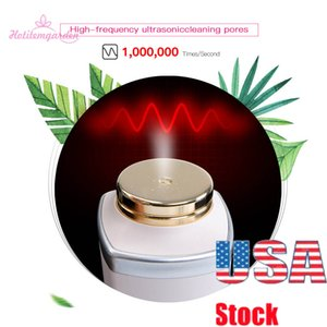 USA STOCK Ion Facial Cleaning Ultrasound Facial Moisturizer Absorption Booster Skin Care Device for Deep Cleaning