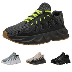 2019 Hot vente entiers drop hommes expédition chaussures de course de taille de sport noir blanc vert occasionnels 39-44 livraison gratuite